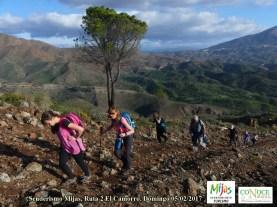 2017-02-05, Senderismo Mijas, R2 El Camorro (27)